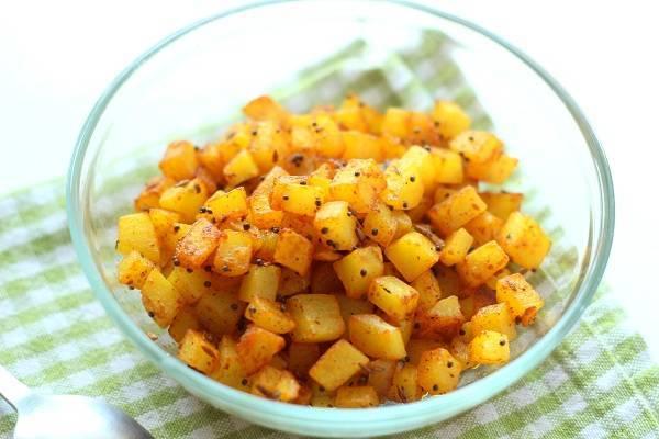 Potato Porial
